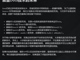 【蜗牛电竞】V社官宣:《DOTA2》未来将不再支持32位系统