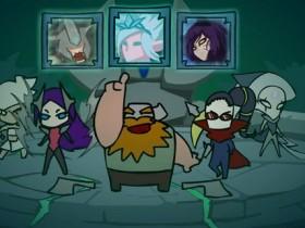 【蜗牛电竞】《英雄联盟》终极魔典Q版动画 憨憨奥拉夫被四位御姐带飞