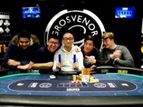 华裔玩家Michael Zhang在GUKPT 伦敦站夺冠
