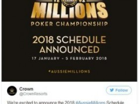 2018澳洲百万赛事之AU$250K挑战赛将取消