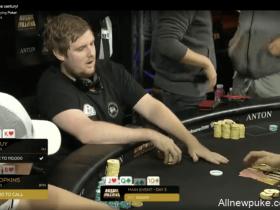 蜗牛扑克:澳洲百万赛上的精彩弃牌!