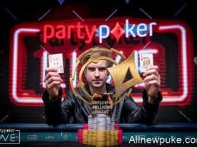 蜗牛扑克:Viktor Blom取得Partypoker百万赛事德国站主赛胜利