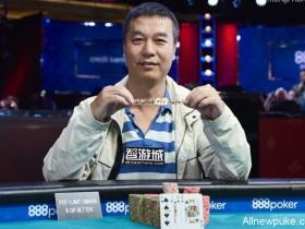 蜗牛扑克:朱跃奇赢得WSOP第35项混合奥马哈冠军,斩获个人首条金手链