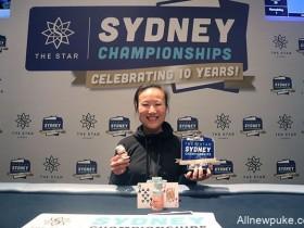 【蜗牛扑克】Sosia Jiang赢得悉尼锦标赛豪客赛冠军,奖金A$266,000