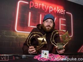 【蜗牛扑克】O'Dwyer再次取得partypoker LIVE百万赛事英国站豪客赛冠军!