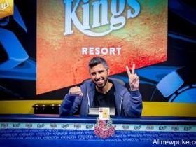 【蜗牛扑克】WSOPE:Asi Moshe赢得第二项赛事金手链
