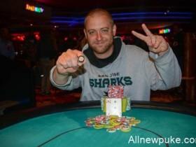 【蜗牛扑克】汉堡帅哥Scott Sanders一周之内斩获两场WSOPC赛事冠军!