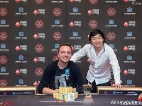 【蜗牛扑克】济州岛站红龙杯SHR:现金局牌手Romain Arnaud荣获终极冠军!
