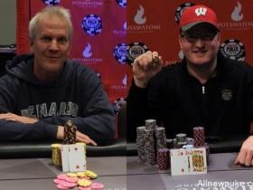 【蜗牛扑克】父子Brett和Josh Reichard在WSOPC伯塔瓦托米站中分别斩获冠军!