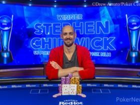 【蜗牛扑克】卫冕冠军Stephen Chidwick斩获USPO2首场胜利,获得奖金$216,000