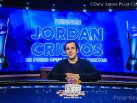 【蜗牛扑克】Jordan Cristos斩获2019 USPO第二项赛事$10K PLO冠军,奖金$179,200