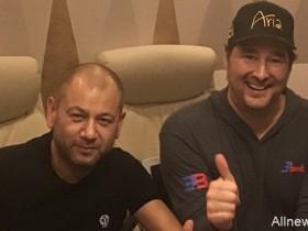 【蜗牛扑克】Hellmuth & Yong约定单挑局,每场 $100K,共五场