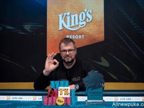 【蜗牛扑克】德国小伙Marius Mikalauskas斩获捷克扑克大师赛冠军,奖金$76,779