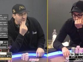 【蜗牛扑克】Phil Hellmuth和Antonio Esfandiari约定单挑,输得一方将被泰瑟枪电击?