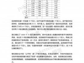 【蜗牛扑克】扑克中的数学-第五部分-20: 锦标赛股份协议(下)——锦标赛XIX