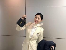 【蜗牛扑克】韩国正妹空姐 甜美气质迷人让人不想下飞机