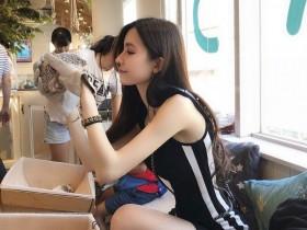 【蜗牛扑克】平面模特正妹张雨乔Jisa 比基尼秀完美身材大长腿吸睛