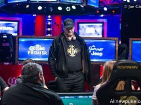 【蜗牛扑克】Phil Hellmuth主赛出局,将所有责任归于自己