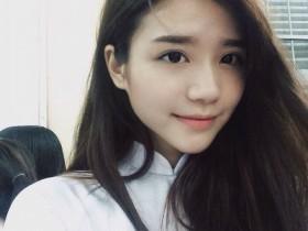 【蜗牛扑克】越南高中生正妹Mai Diz 穿旗袍美女宛如仙女下凡