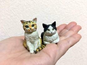 【蜗牛扑克】模型师与奇谭合作猫雕刻扭蛋 高级质感扭蛋很可爱