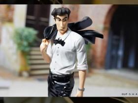 【蜗牛扑克】《蜡笔小新》野原广志景品模型 新好男人帅爆了