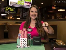 "【蜗牛扑克】Tiffany Keathley赢得RGPS丘尼卡""Game 7"" 主赛胜利,入账$48,796"