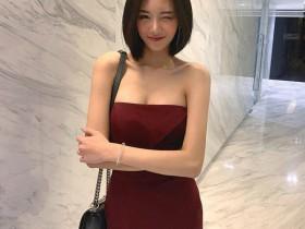 【蜗牛扑克】泰国短发美女nngam 极品正妹甜美气质100分