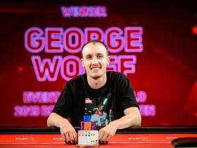 【蜗牛扑克】George Wolff取得英国扑克公开赛£10,000 PLO胜利,获得奖金£120K