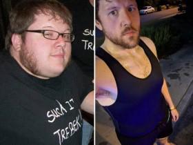 【蜗牛扑克】美国男子跳舞机减肥法 成功瘦身减重112.8斤