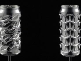 【蜗牛扑克】雕刻家Noah Deledda徒手将铝罐变艺术品 独特艺术品令人叹为观止