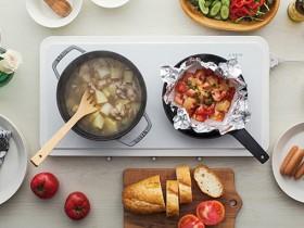 【蜗牛扑克】Panasonic IH 双口电磁炉 餐桌变厨房成料理神器