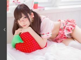 【蜗牛扑克】日本网络正妹草莓水手服诱惑 性感透明让人招架不住