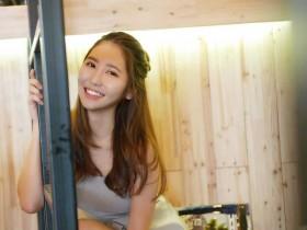 【蜗牛扑克】大马清新正妹溱溱 甜美笑容充满阳光