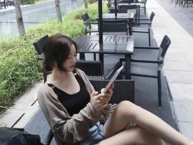 【蜗牛扑克】韩国长发气质正妹美女 转身回谟一笑令人想恋爱