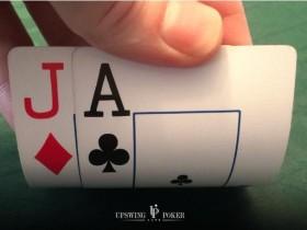 【蜗牛扑克】牌局分析:AJ如何在J-J-5翻牌面获取最大价值