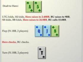 【蜗牛扑克】六人桌常规局典型牌例100手-5