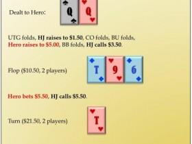【蜗牛扑克】六人桌常规局典型牌例100手-6