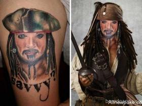 【蜗牛扑克】失败刺青图案实体化 卖萌耍笨的汪星人很野性