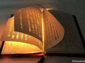 """【蜗牛扑克】会发光的书好神奇 """"雷射雕刻""""技术制作书箱像""""魔法书"""""""