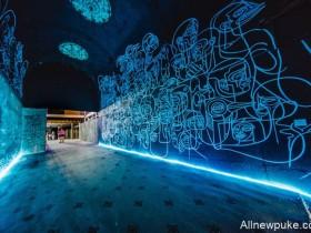 【蜗牛扑克】百年戏院Sparks重新装修 街头涂鸦结合时代感艺术重生