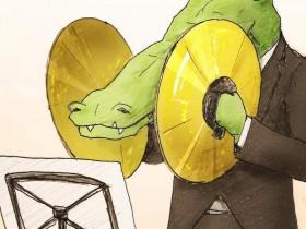 【蜗牛扑克】笑点插画家keigo新作 鳄鱼厌世插画令人脑洞大开