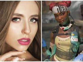 【蜗牛扑克】立陶宛美女cosplay《Apex 英雄》生命线遭封锁 涂黑脸被疑种族歧视