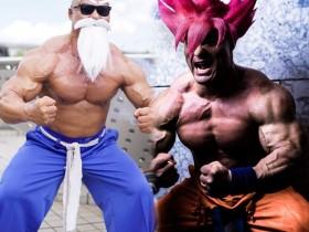 【蜗牛扑克】Coser肌肉男清水泰地 为锻炼肌肉不敢交女朋友