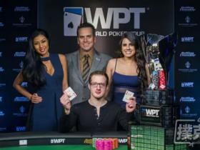 【蜗牛扑克】新闻回顾-Michael Del Vecchio 在WPT Rolling Thunder德州扑克主赛事夺冠