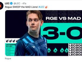 【蜗牛电竞】RGE 3:0横扫MAD晋级败者组决赛 MAD确定四号种子入围赛打起