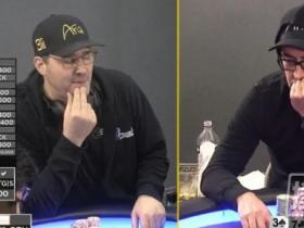 【蜗牛扑克】Phil Hellmuth和Esfandiari的第二场单挑即将重启