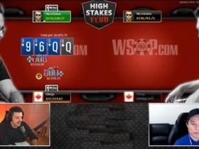 【蜗牛扑克】扑克职业玩家Daniel Negreanu比赛输给Doug Polk