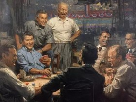 【蜗牛扑克】艾森豪威尔 不爱打扑克的总统不是好将军!