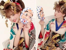 【蜗牛扑克】暗黑天后三上悠亚2020新年周刊性感写真花魁打扮超辣!