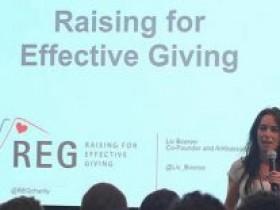 REG在2016年累积筹款150万美元